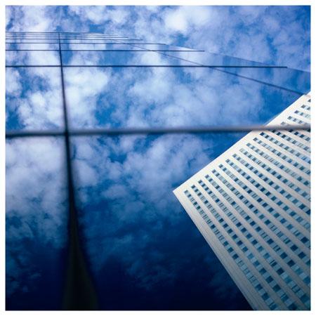 nuage ciel immeuble skyscrapper