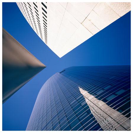 la defense trois immeubles